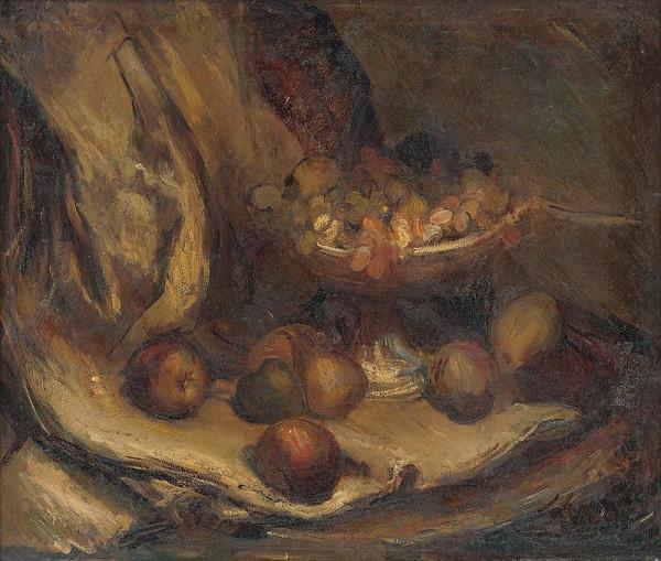 Vladimír Droppa – Zátišie s ovocím