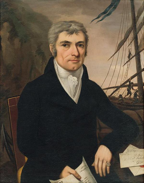 Ján Rombauer – Podobizeň Jána Samuela Steinhübla z Prešova