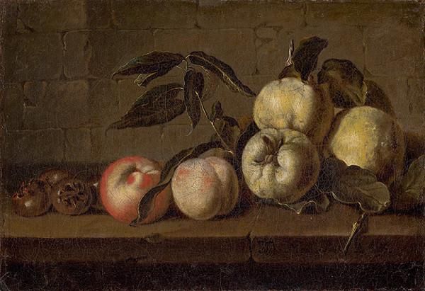 Jan Baptist Morel, J. Morell – Zátišie s ovocím