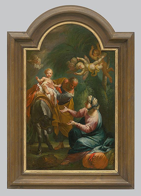 Stredoeurópsky maliar z konca 18. storočia – Útek do Egypta
