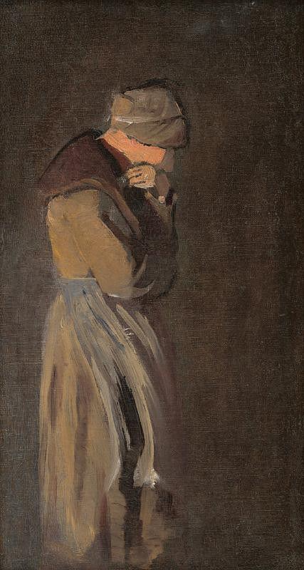 Ladislav Mednyánszky – Vdova
