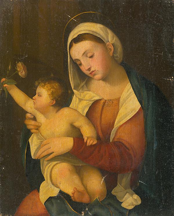 Taliansky autor zo začiatku 18. storočia – Madona
