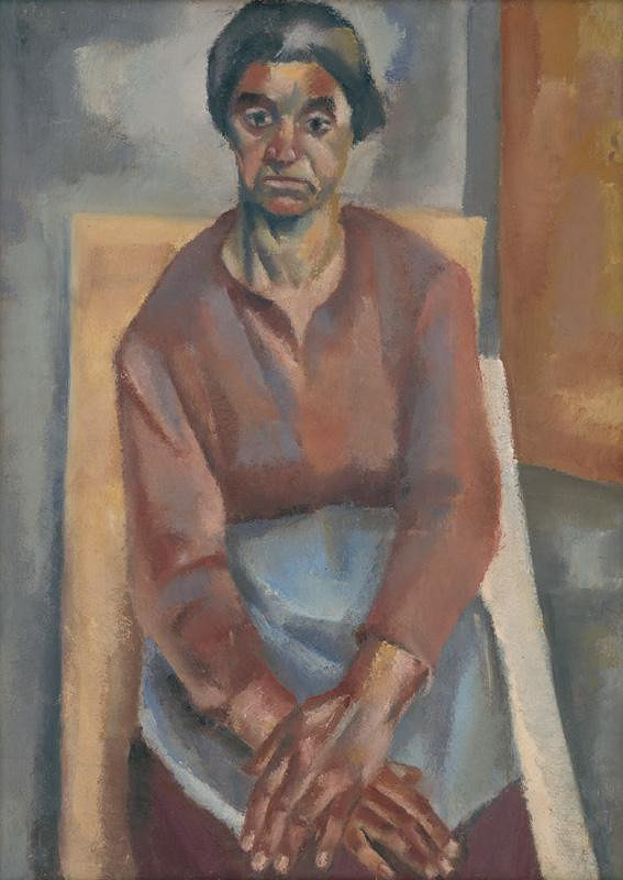Ernest Zmeták - Štúdia k podobizni ženy
