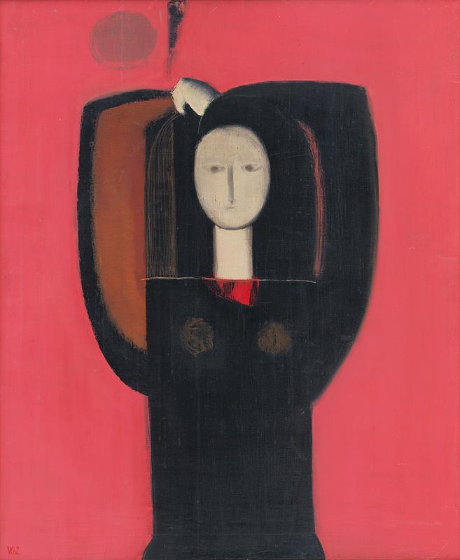 Viera Kraicová – Žena, 1962, Slovenská národná galéria