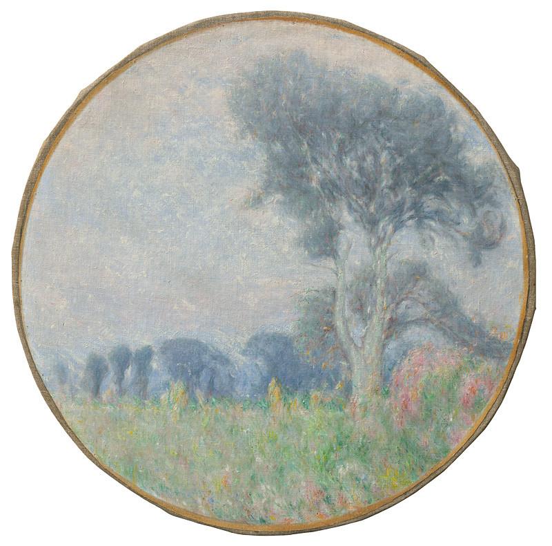 Karol Miloslav Lehotský - Krajina so stromom, 1917, Slovenská národná galéria