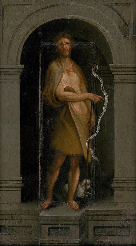 Taliansky maliar z 1. polovice 16. storočia - Svätý Ján Krstiteľ