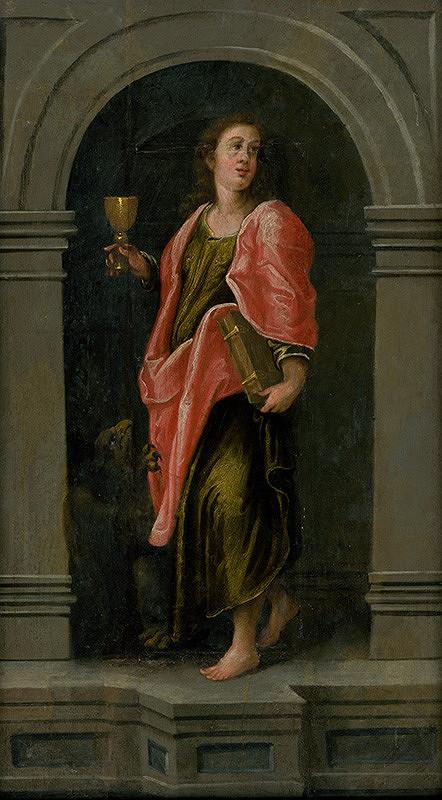 Autor kópie neznámy – Svätý Ján Evanjelista