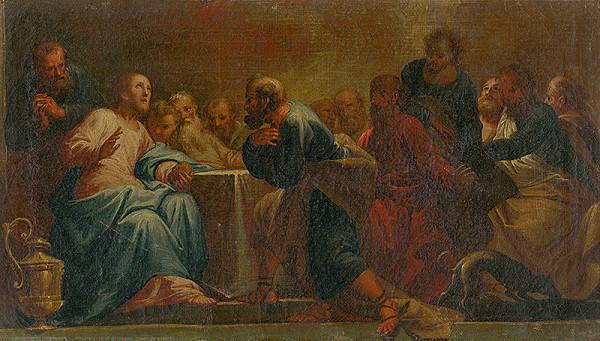 Stredoeurópsky maliar z konca 18. storočia - Posledná večera