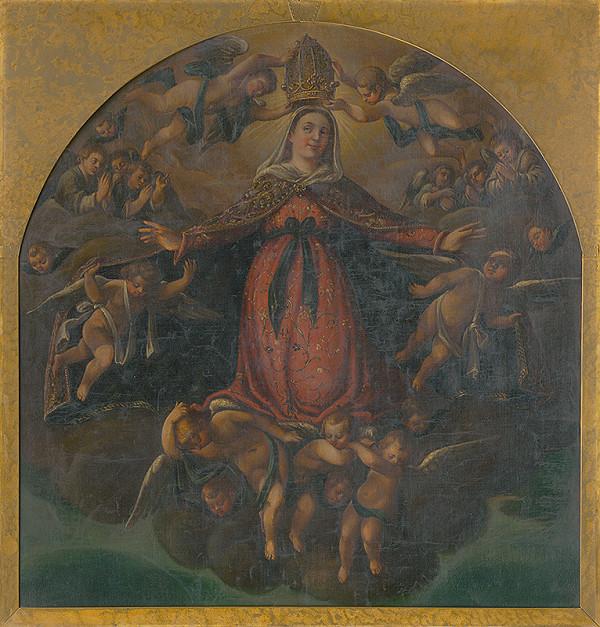 Slovenský maliar z 18. storočia, Neznámy maliar - Korunovanie Panny Márie