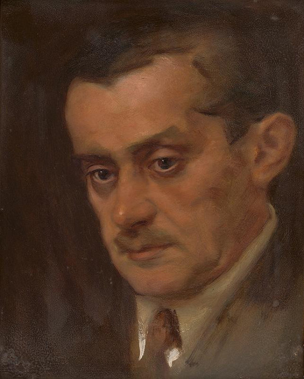 Milan Thomka Mitrovský - Portrét muža
