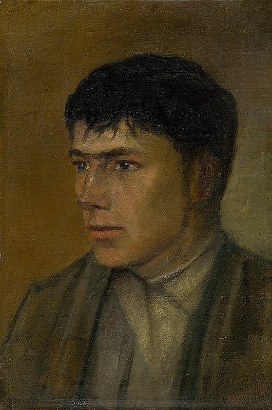 Ladislav Mednyánszky – Podobizeň dedinského mládenca
