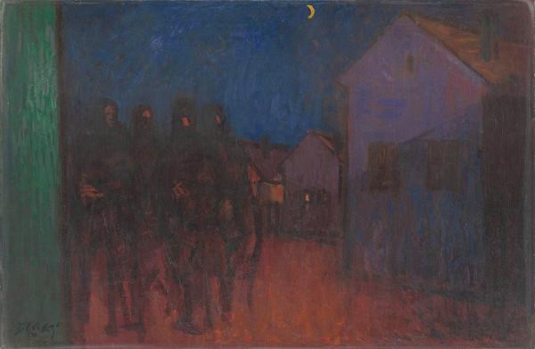 Ján Želibský - Partizáni v dedine