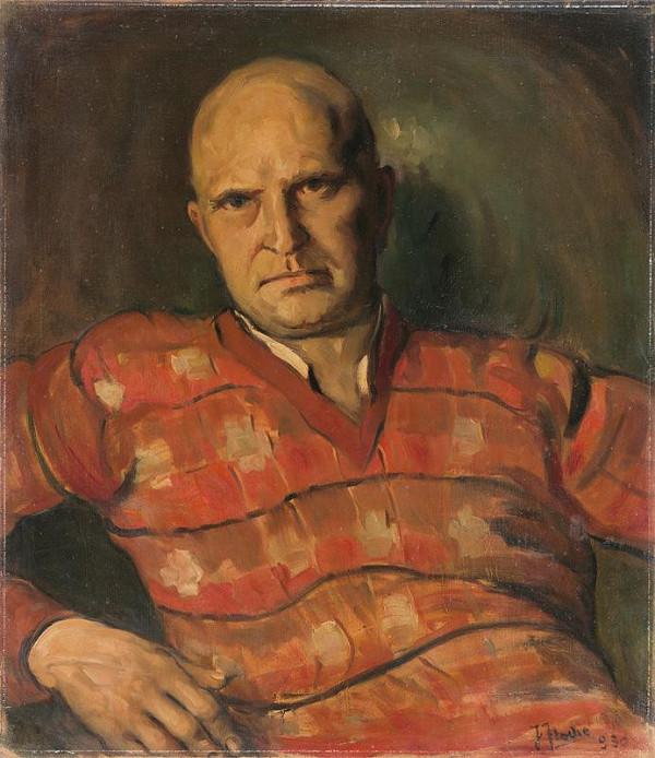 Július Flache – Autoportrét