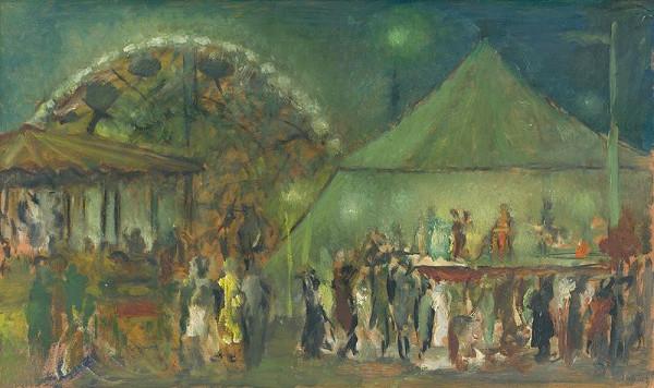 Aurel Kajlich - Večer v lunaparku