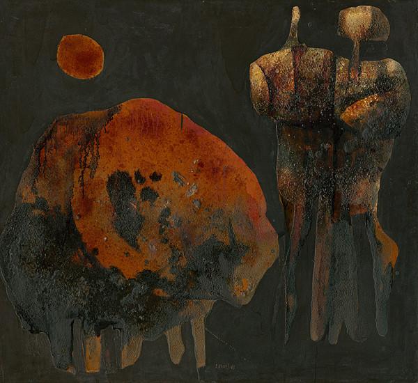 Rudolf Krivoš - Ľudia s býkom