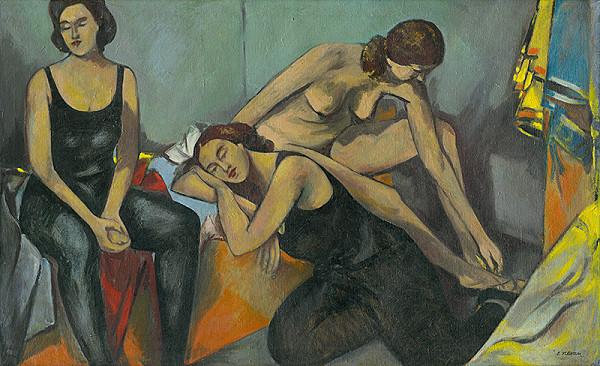 Eugen Nevan – Odpočívajúce tanečnice