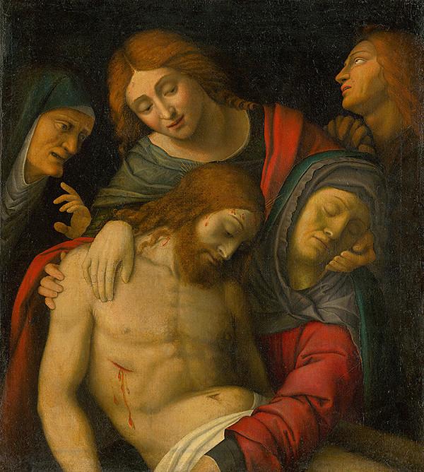 Taliansky maliar z 19. storočia, Giovanni Francesco Caroto – Oplakávanie Krista