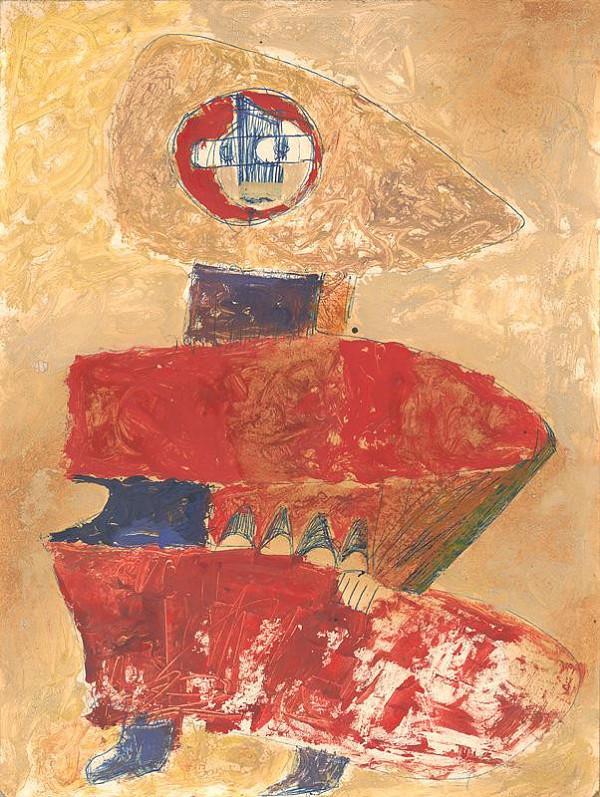 Andrej Rudavský – Žena z katakomb