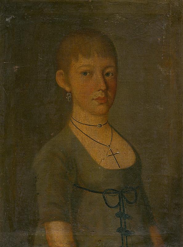 Stredoeurópsky maliar zo začiatku 19. storočia - Podobizeň mladej ženy