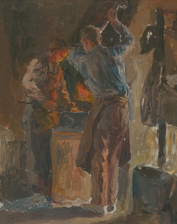 Maximilián Kurth – Štúdia z Prakovských strojární