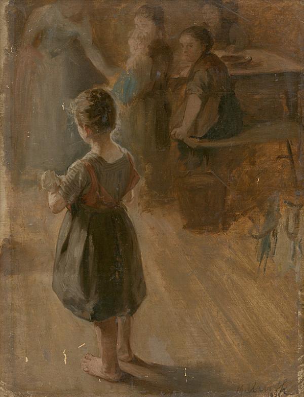 Maximilián Kurth - Návšteva u chorej matky