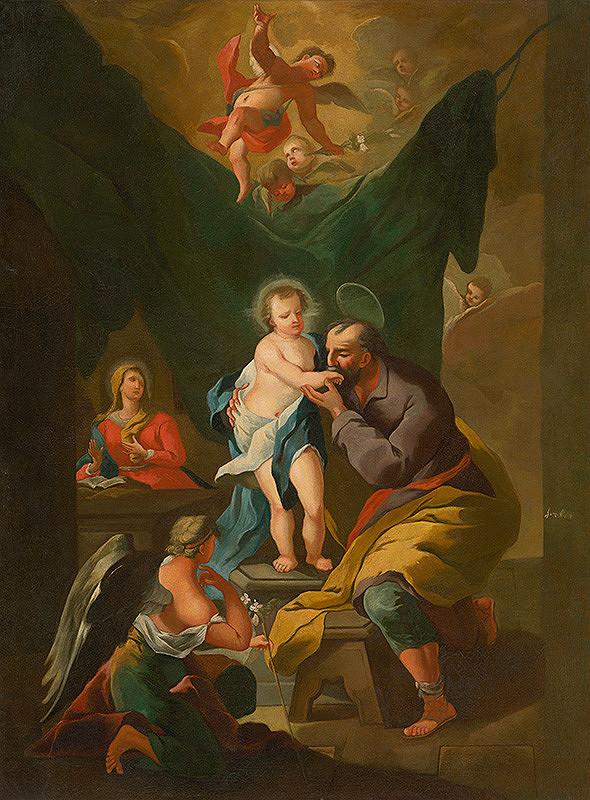 Západoslovenský maliar z 2. polovice 18. storočia - Svätá rodina