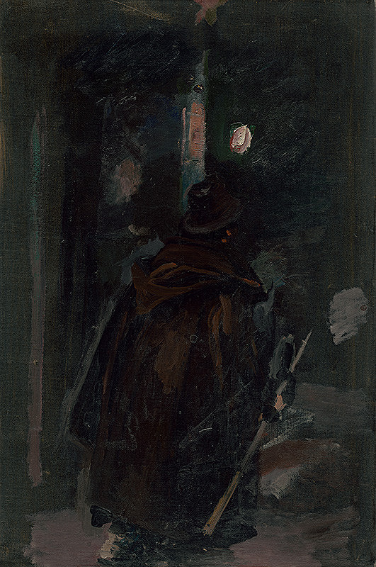 Dominik Skutecký - Nočný strážnik