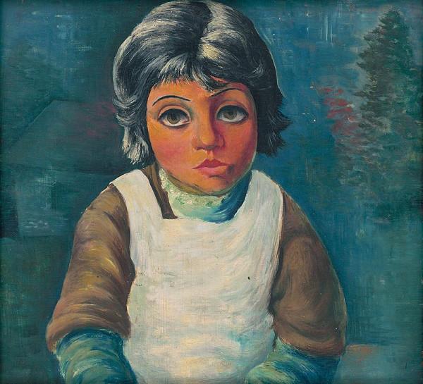 František Reichentál – Dievčatko