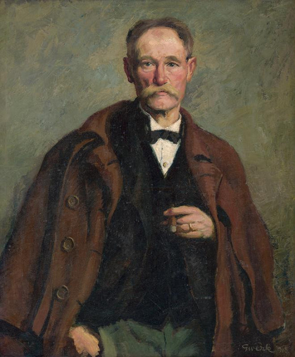 Edmund Gwerk – Portrét umelcovho otca