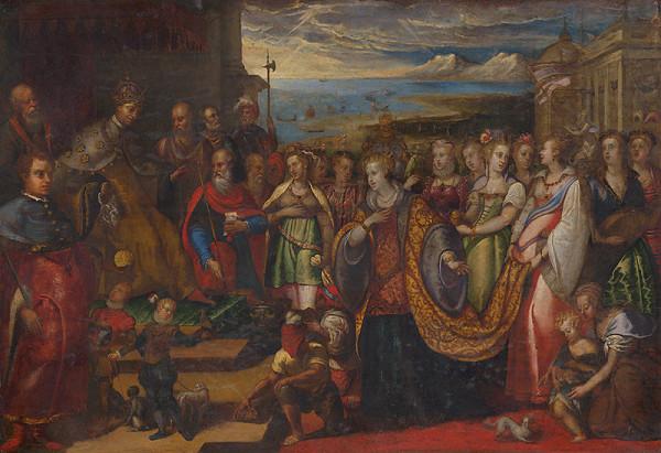Andrea Michieli – Historický výjav z Benátok