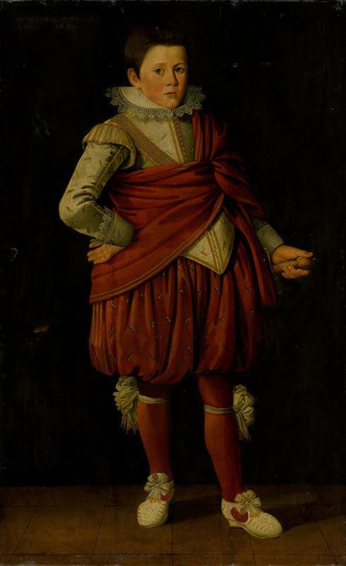 Taliansky [lombardský] maliar zo 17. storočia, Holandský maliar z 1. polovice 17. storočia – Podobizeň stojaceho mladého šľachtica
