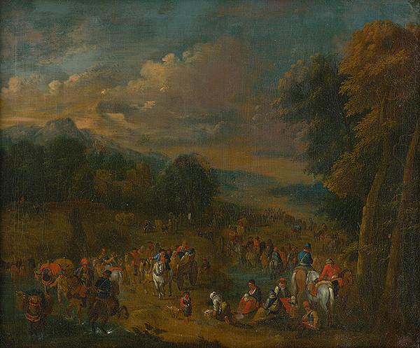 Stredoeurópsky maliar z konca 18. storočia – Vysťahovalci
