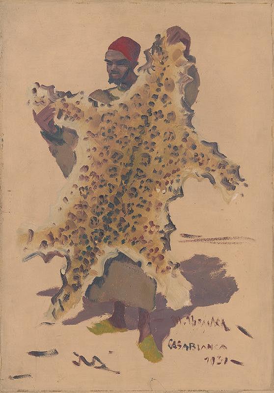 Martin Benka - Motív z Casablanky