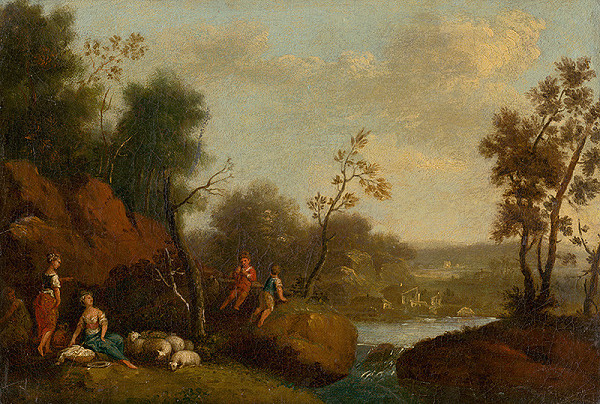 Rakúsky maliar z 2. polovice 18. storočia – Romantická krajina