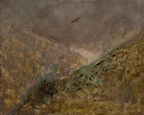 Ladislav Mednyánszky – Údolie s dravými vtákmi