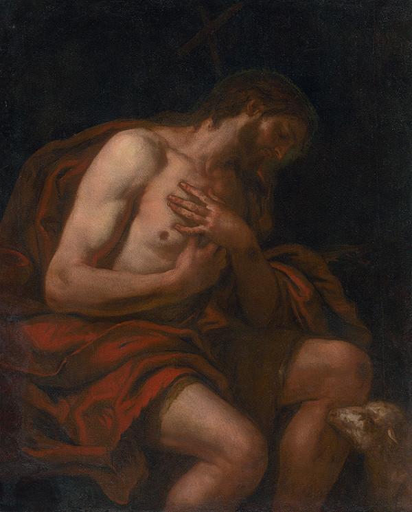 Taliansky maliar z 2. polovice 17. storočia, Johan Carl Loth - Svätý Ján Krstiteľ