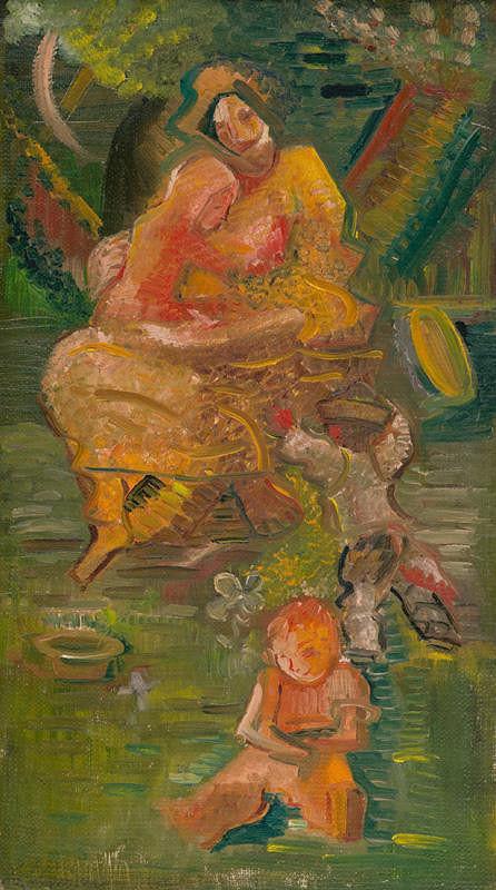 Arnold Peter Weisz-Kubínčan – Matka s deťmi