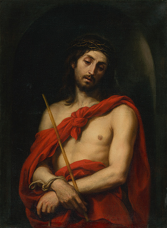 Taliansky maliar z 1. polovice 17. storočia - Ecce homo