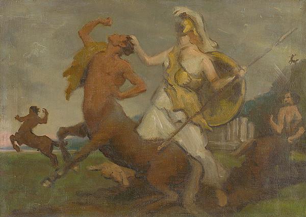 Milan Thomka Mitrovský – Palas Athenae proti Kentaurom