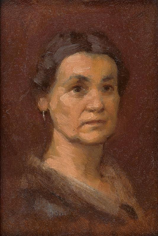 Milan Thomka Mitrovský – Podobizeň pani Šrobárovej