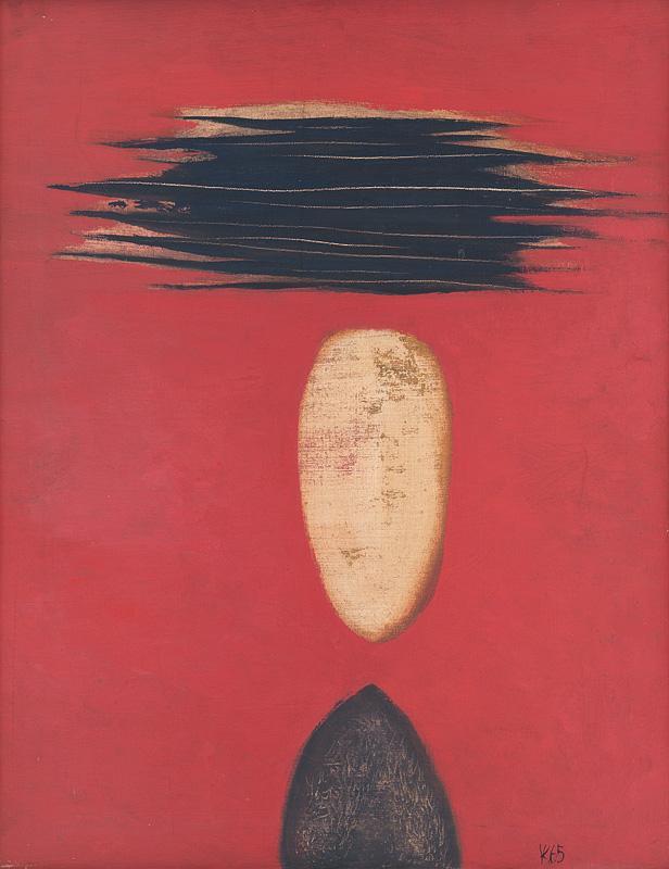 Viera Kraicová – Vdova, 1965, Slovenská národná galéria