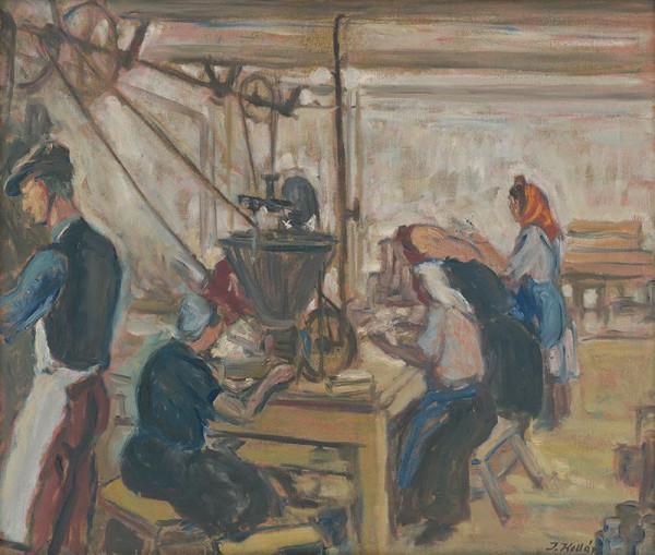 Jozef Kollár – V továrni