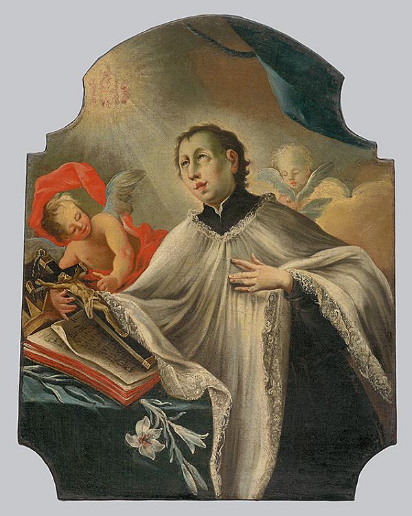 Slovenský maliar z 2. polovice 18. storočia, Neznámy maliar - Svätý Alojz