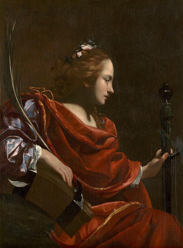 Simon Vouet – Svätá Katarína