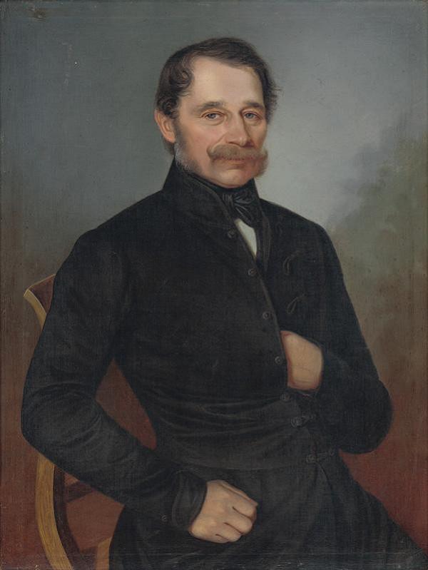 Peter Michal Bohúň – Podobizeň Mateja Dluhovitsa