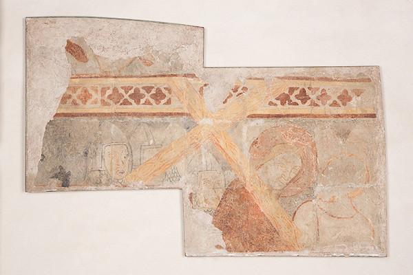 Neznámy maliar - Fragment nesenia kríža