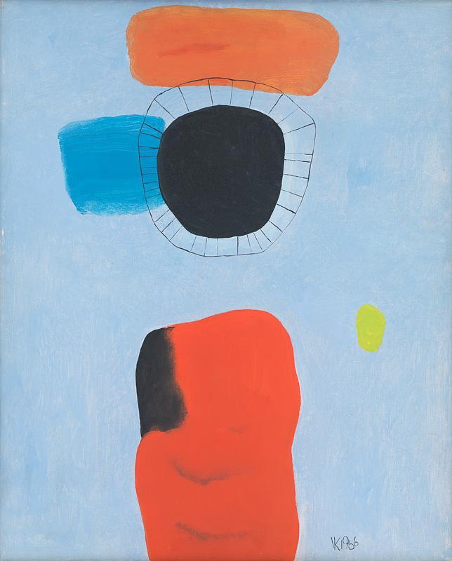 Viera Kraicová – Čierna svätica, 1966, Slovenská národná galéria