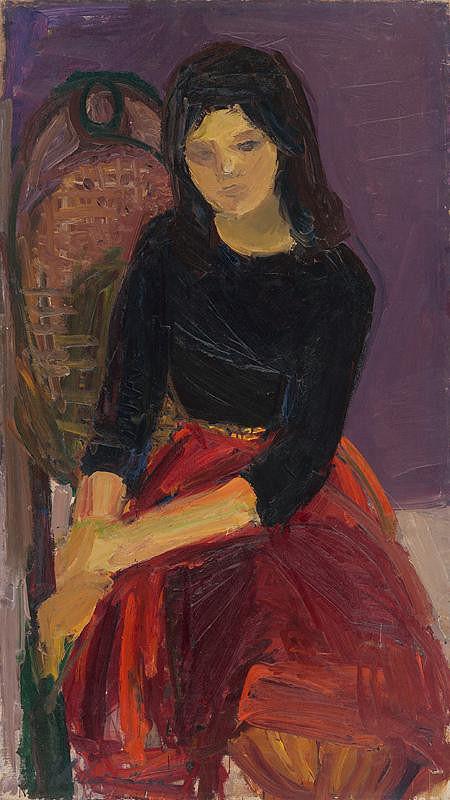 Gabriela Balažovičová - Zamyslená