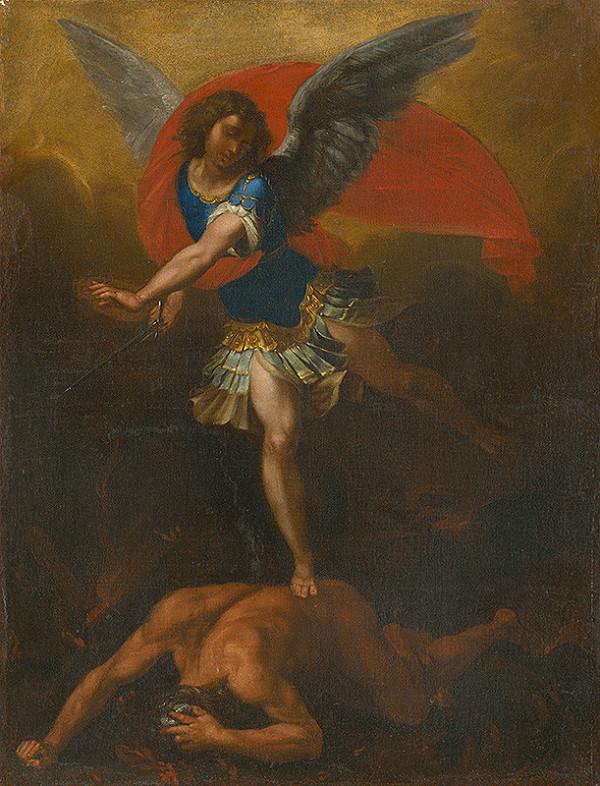 Stredoeurópsky maliar z prelomu 17. - 18. storočia - Archanjel Michal