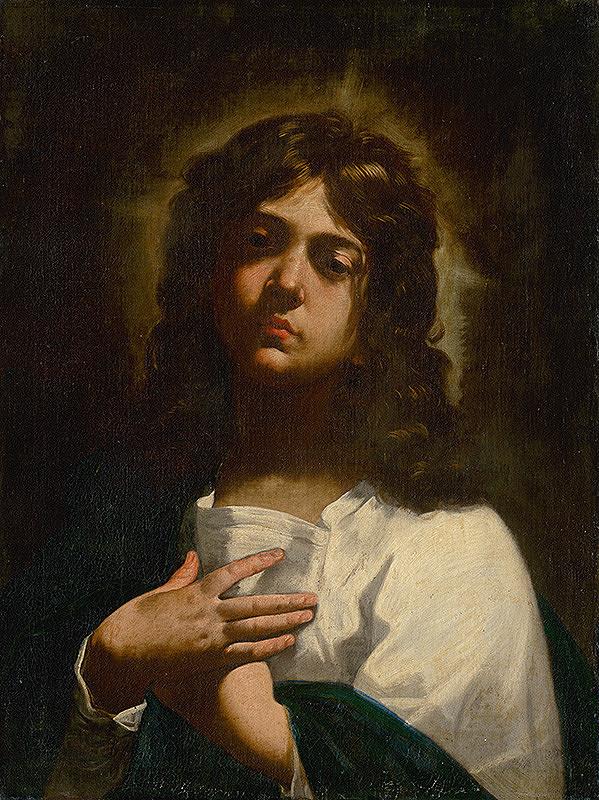 Simone Cantarini – Ján Evanjelista
